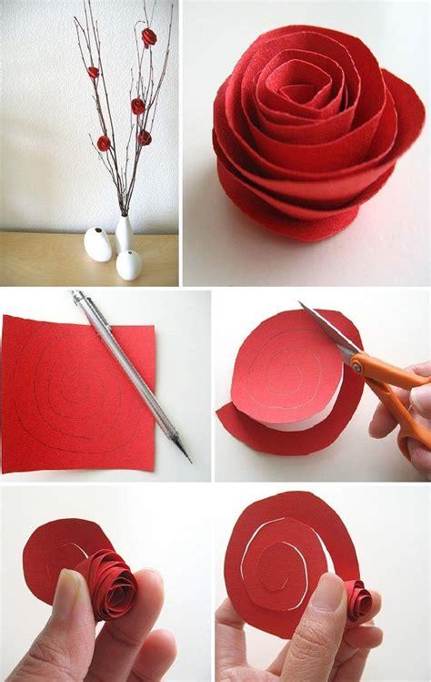 Make Paper Roses Easy - best 25 easy paper flowers ideas on diy easy