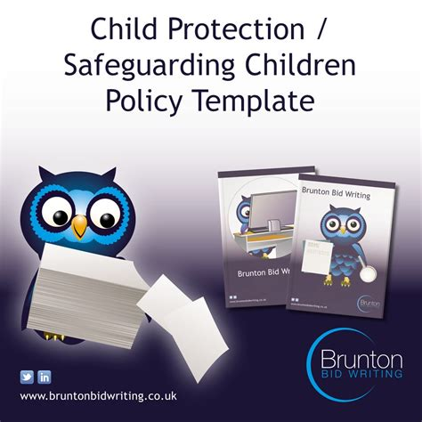safeguarding children company policy template for