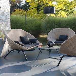 salon de jardin en rotin collection loa castorama