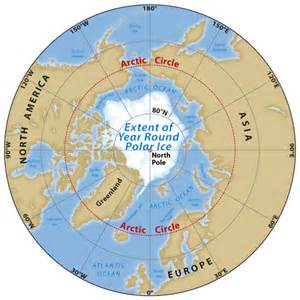 arctic circle canada map artic expedition to study mmgw stopped by new