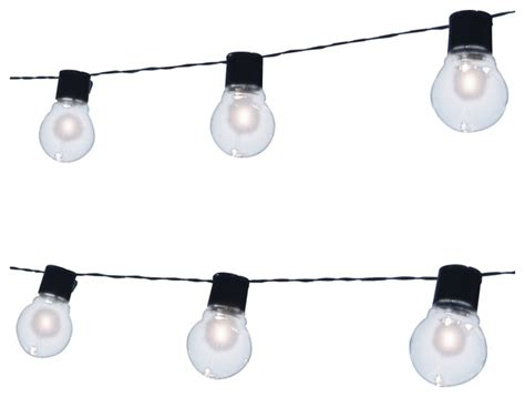 patio rope lights solar edison patio string lights transitional outdoor