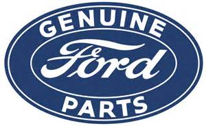 Genuine Parts Vtg Style 18 Quot Ford Logo Tin Metal Sign Genuine Parts Rat