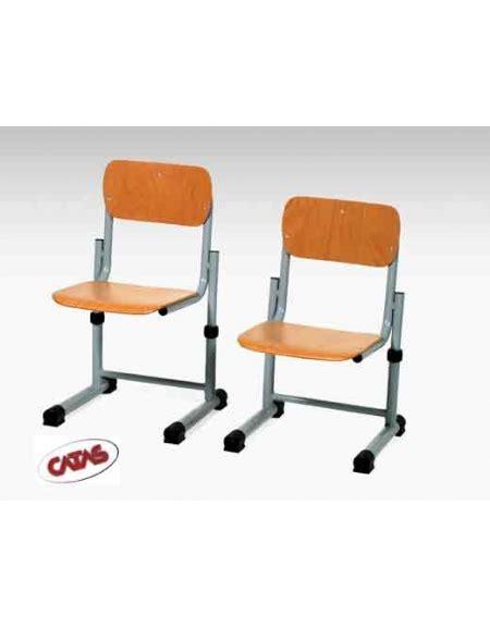 sedia regolabile per bambini sedia regolabile faggio arredamento scolastico arredi