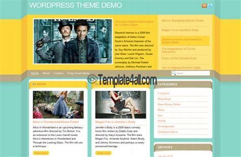 wordpress theme free yellow yellow chrome jquery wordpress theme download