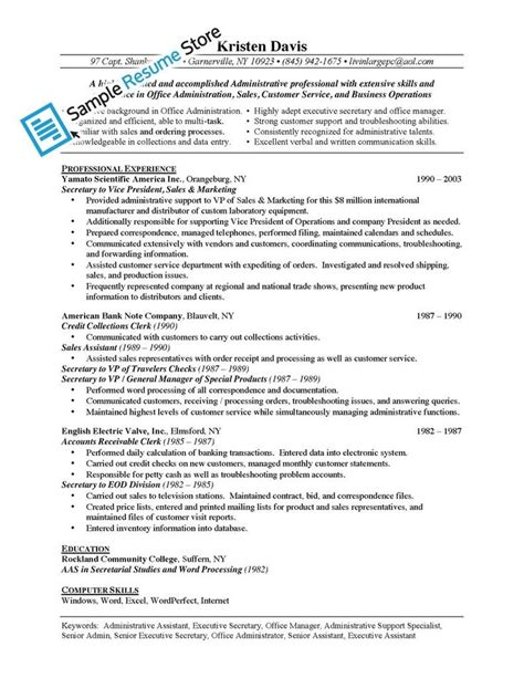 sle of ksa for administrative assistant best 25 administrative assistant description ideas on