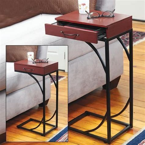 sofa table with drawer pull up side sofa table with drawer decore