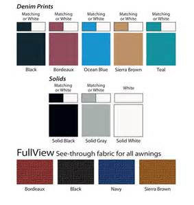 vinyl window colors carefree of colorado rv awnings at rv store your rv