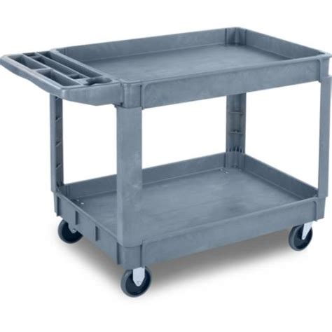 Kitchen Utility Carts by Carlisle Uc452523 45 In X 25 In Gray Utility Cart
