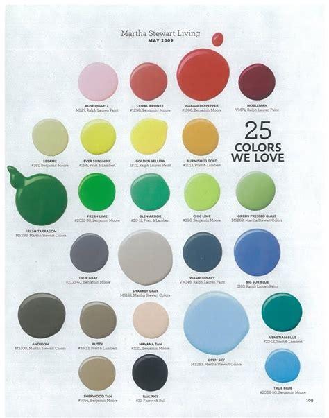 martha stewart color picks paint colors color schemes paint colours and paint ideas