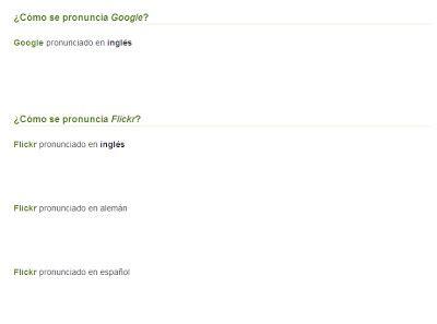 como se pronuncia layout en español como se pronuncia google flikr youtube wikipedia