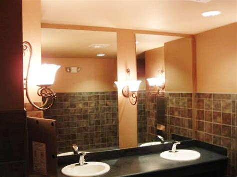 commercial mirrors for bathrooms gallery salt lake city glass company and window repair