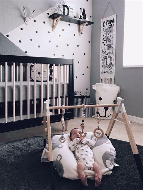 monochrome zoo nursery babalooni baby bedroom baby