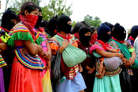 Wreathes photo essay zapatistas show dignified rage and demand