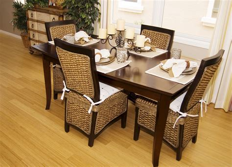 Wicker Dining Room Furniture Rattan Dining Room Set Amazoncom Rattan Kitchen Dining Room Furniture Furniture Dining