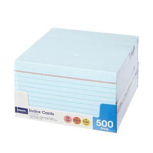5x8 ruled index card template j burrows index cards ruled 127 x 76mm blue 500 pack