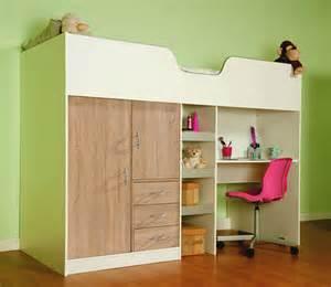 cabin beds bourne high sleeper cabin bed available in white oak