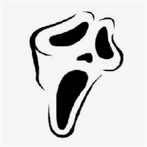 scream pumpkin template scream stencil