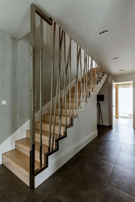 Interior Stairs Design In Duplex Apartments Luxurious Penthouse Design In Warsaw