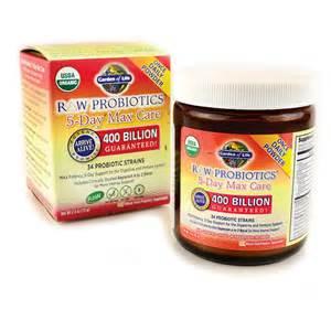 Garden Of S Probiotic Garden Of Probiotics 5 Day Max Care 400 Billion