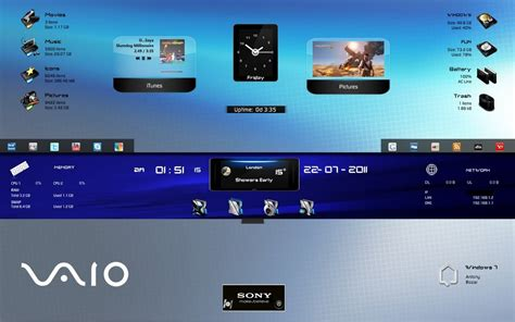 desktop themes for sony vaio sony vaio by darkeagle2011 on deviantart