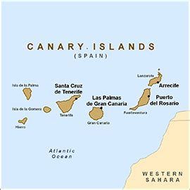 health information  travelers  canary islands spain