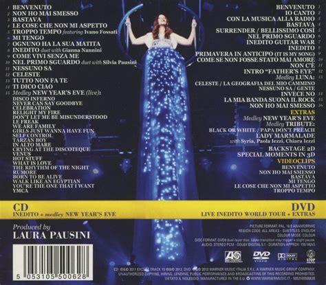 review pausini live world tour 09 cd dvd pausini inedito cd opus3a
