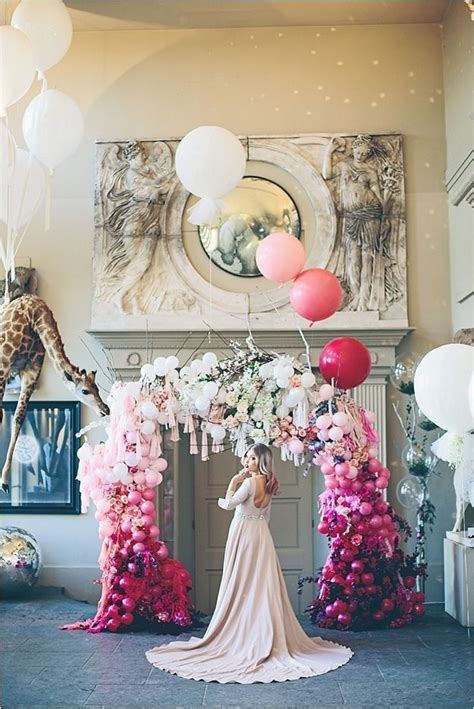 185 best Wedding Balloon Decorations images on Pinterest
