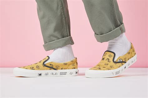 Vans X Brain Deads a closer look at the new vans vault x brain dead aw17