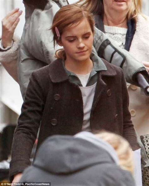 film mit emma watson regression photos emma watson in first on set images from