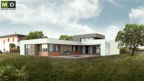 Flat Roof Bungalow Luxury Low Energy Bungalow With A Flat Roof Osnice