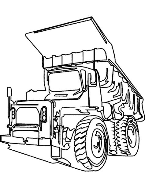 Truck Coloring Pages Coloring Pages To Print Truck Color Pages