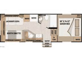 Nash Travel Trailer Floor Plans by Northwood Nash 21 5r Gardner Rv And Trailer Center