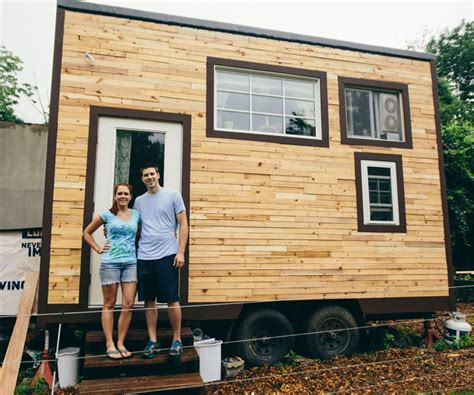 micro houses scaling down one couple builds a tiny house tinyhouse