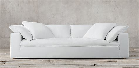 restoration hardware fabric sofas sofas restoration hardware