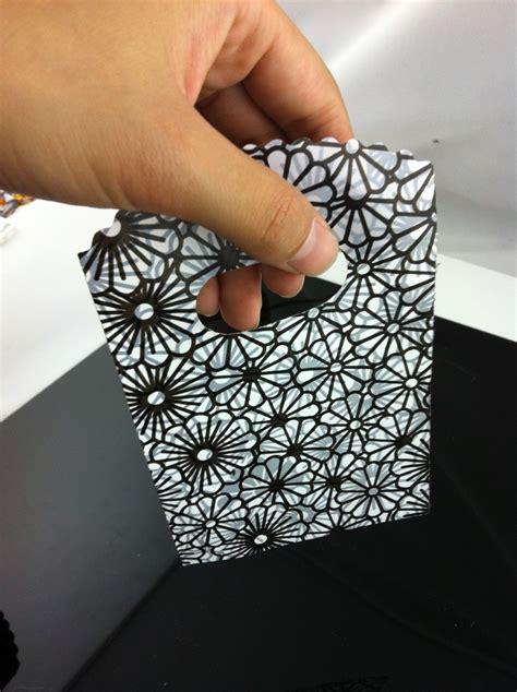 black patterned gift bags hot sale 500pcs 15x9cm black adn gray flower pattern small