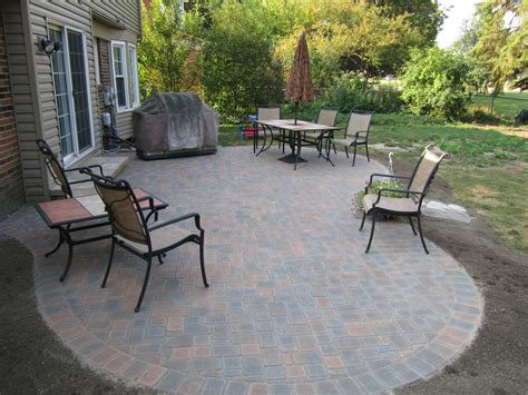 Small Paver Patio Designs Landscaping With Pavers