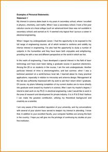 Exle College Essay by 5 Exles Of Personal Statements For Scholarship Applications Statement 2017
