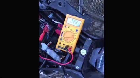 Motorrad Batterie Spannung by Motorrad Batterie Startprobleme Spannung Bricht Ein