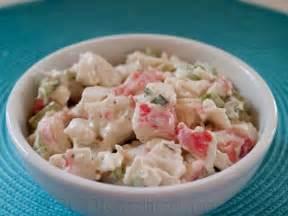 golden corral crab salad recipe cdkitchen com
