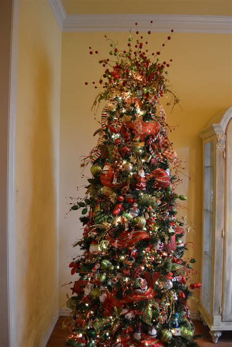 decorating with mesh ribbon for christmas decorating with mesh ribbon trees