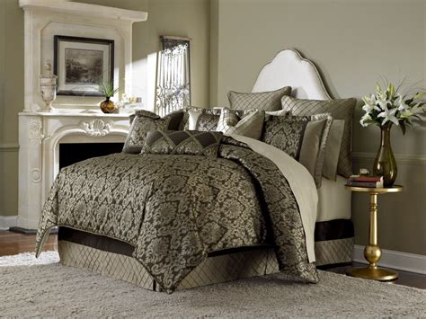 imperial bronze 10 piece king comforter set from aico bcs