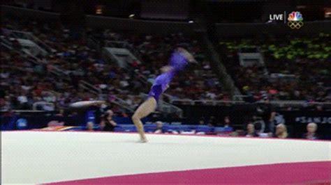 gymnastics layout half twist gym skills guide laurie hernandez s tumbling passes