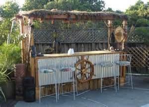 Backyard Tiki Bar Ideas Tiki Bar Ideas For The Home Backyard Completely Coastal