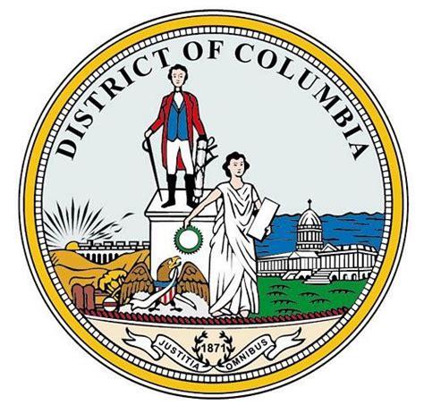 Aufkleber Siegel Rund by Autoaufkleber Sticker Siegel Usa District Of Columbia