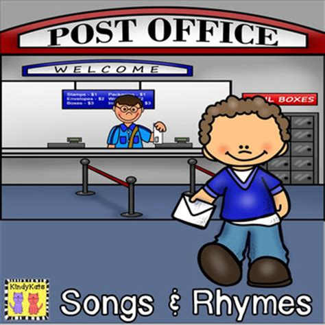What Rhymes With Office by Post Office And Letter Writing Songs Rhymes By