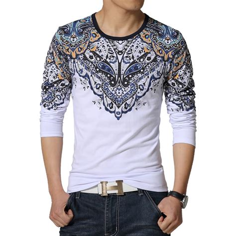 aliexpress buy 2016 new t shirt mens printed o neck slim fit sleeve t shirts