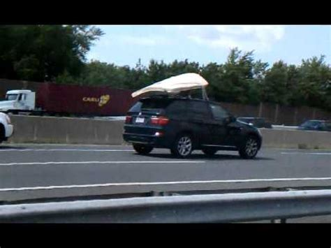 How To Transport A Mattress On Top Of Car quot mattress flying of roof of truck quot