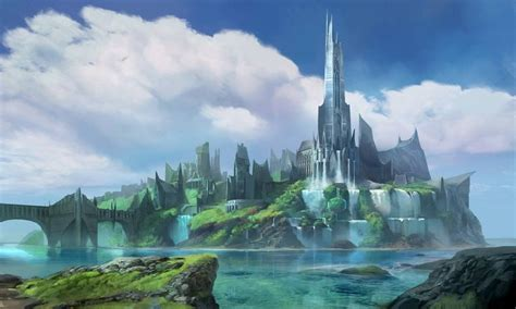 fantasy environment by atomhawk on 25 best fantasy city ideas on fantasy town fantasy world and fantasy world