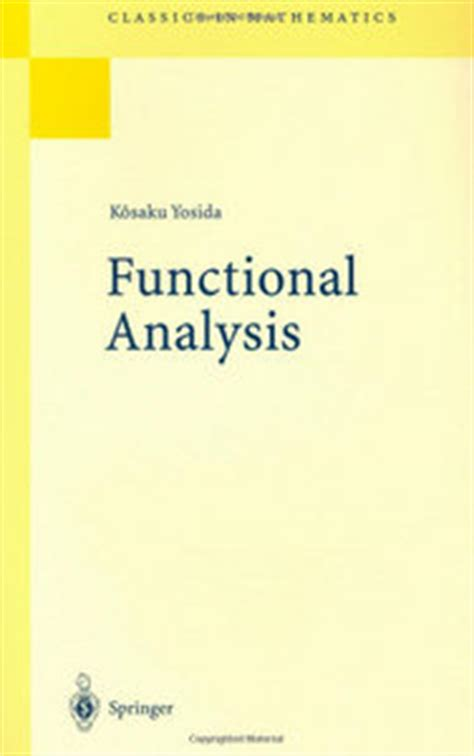calculus with selected classics problem ebook functional analysis 6th edition classics in mathematics