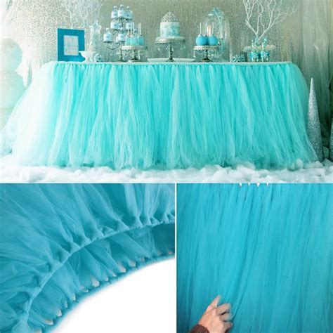 Diy Tutu Table Gorgeous Decorating by 5pcs Lot 100 80cm Diy Tulle Tutu Table Skirt Tulle Baby